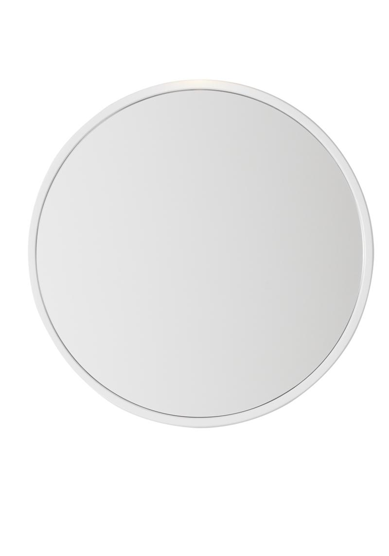 Baderomsskap Med Speil : Eden speil runde rundt med en smal ...