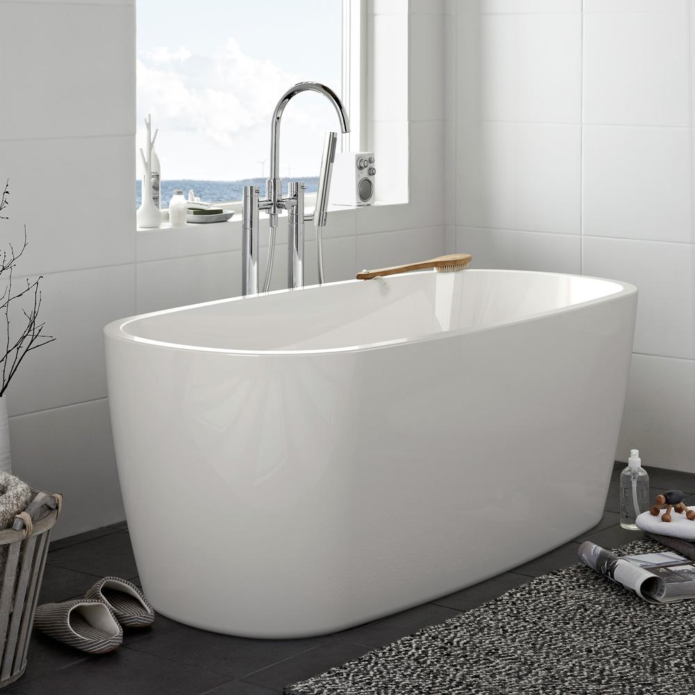 Hafa badekar – materialvalg for baderomsmøbler