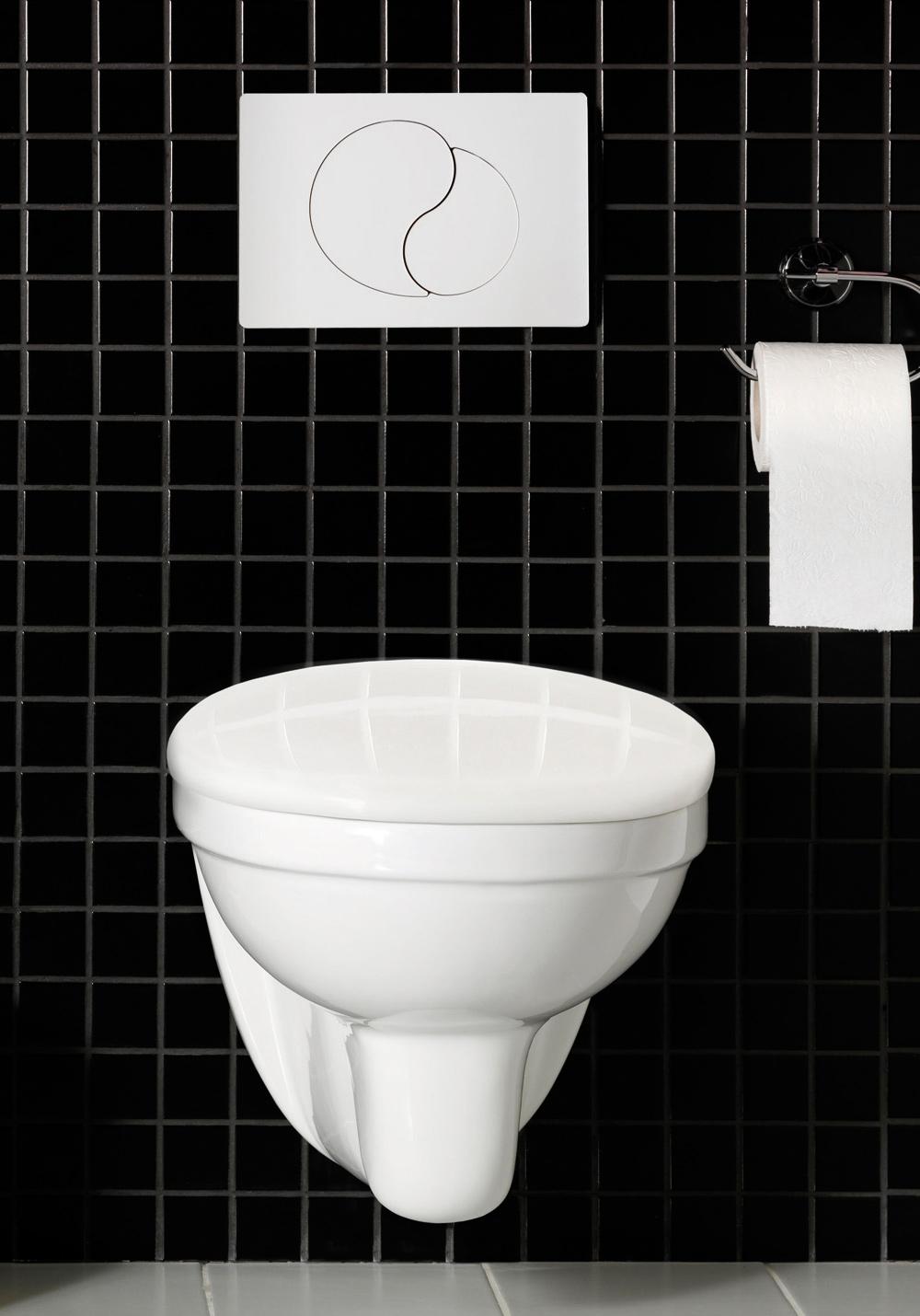 WALL WC F.VEGG-HELT SETT HVIT - Hafa Baderom : hafa toalett : Inredning